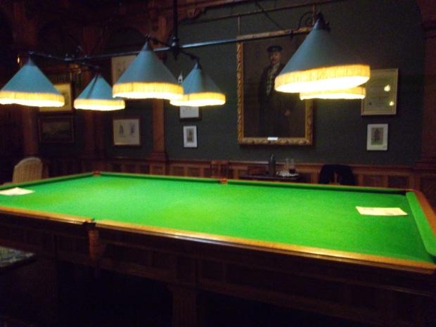 Cragside billiard room