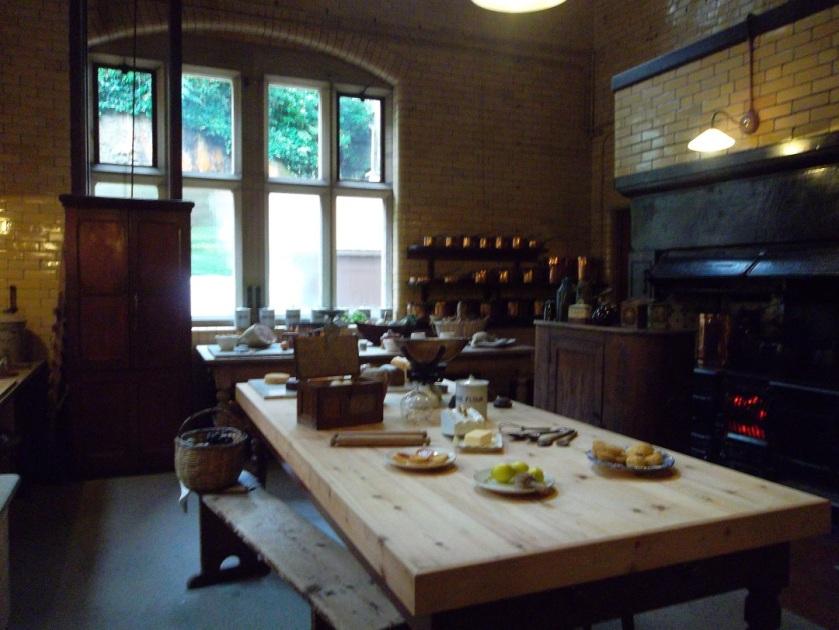 Cragside kitchen