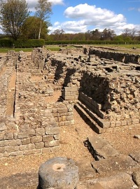 The granary at Corbridge Roman Town